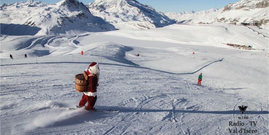 Christmas on the slopes!