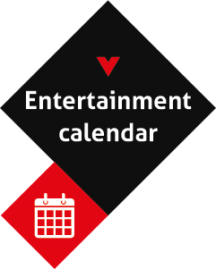 Dates for your diary! Don't miss out on ski area entertainment and activities